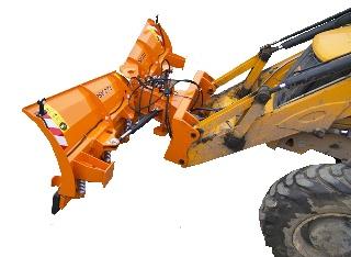 Pluguri de zapada pentru buldoexcavatoare
